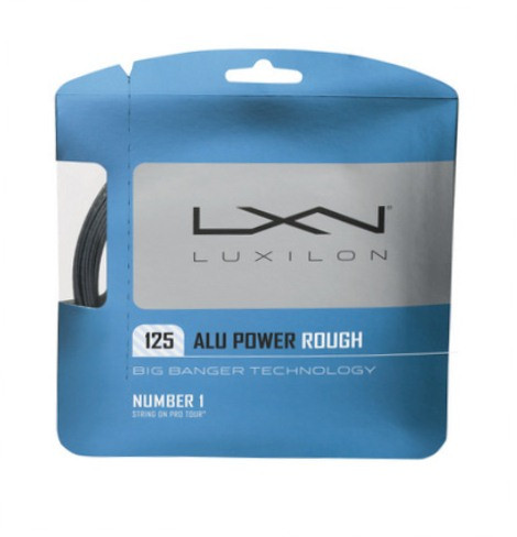 Luxilon tennissnaar Big Banger Alu Power Rough 12m