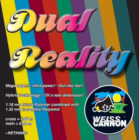 Weiss Cannon Dual Reality