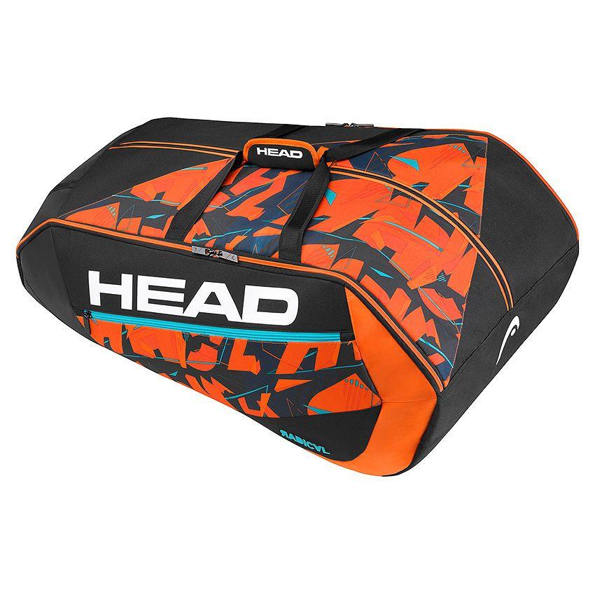 Head Radical 12r Monstercombi zwart/oranje