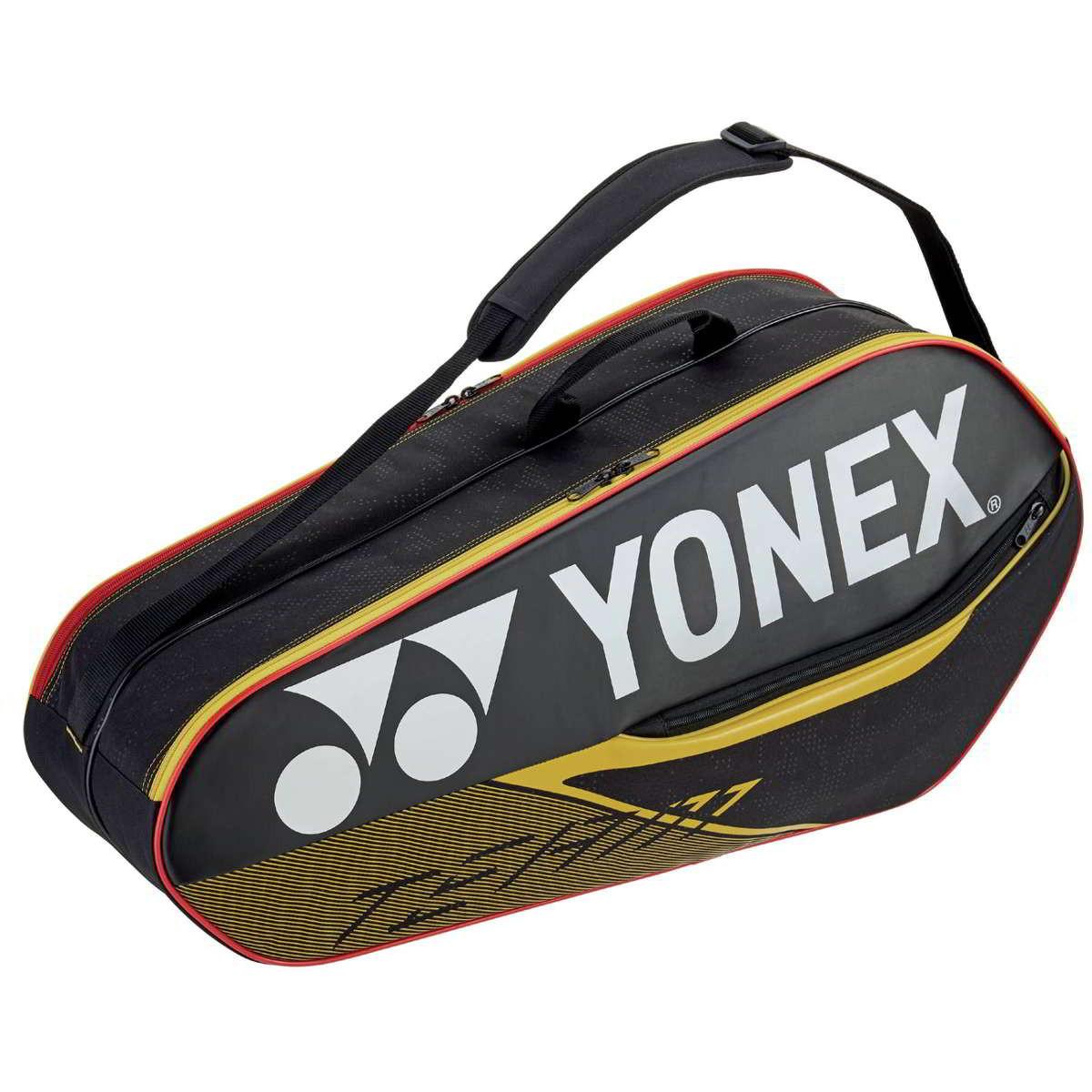 Yonex Team Bag 6R 42026 zwart-geel