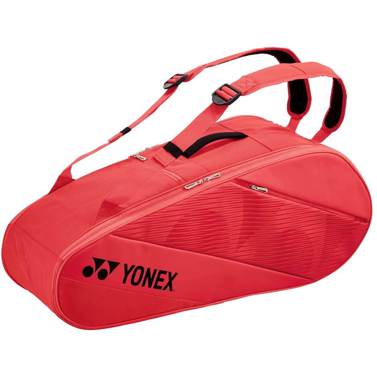 Yonex Active Bag 9R 82026 Red (foto 9 bag volgt)
