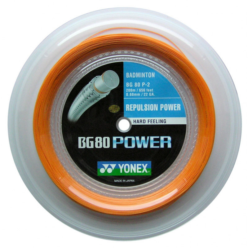 Yonex BG80 Power Bright Orange