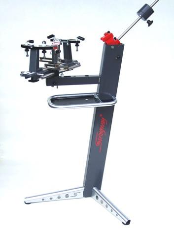 Stringway bespanmachine ML120 met 2 vaste 1-traps tangen