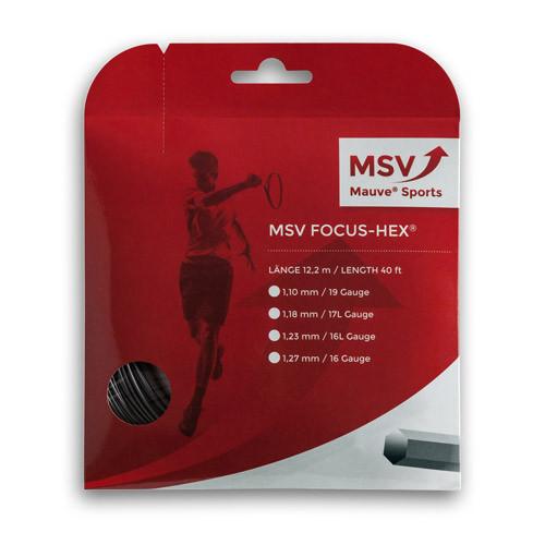 MSV Focus HEX zwart