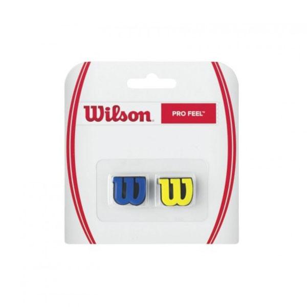 Wilson Pro Feel demper blauw-geel