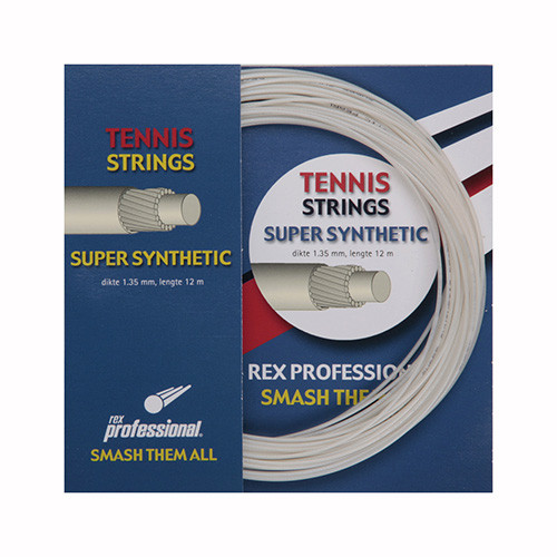 Rex Professional tennissnaar Super Synthetic 12m
