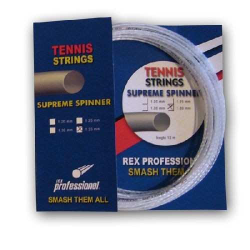 Rex Professional tennissnaar Supreme Spinner 12m