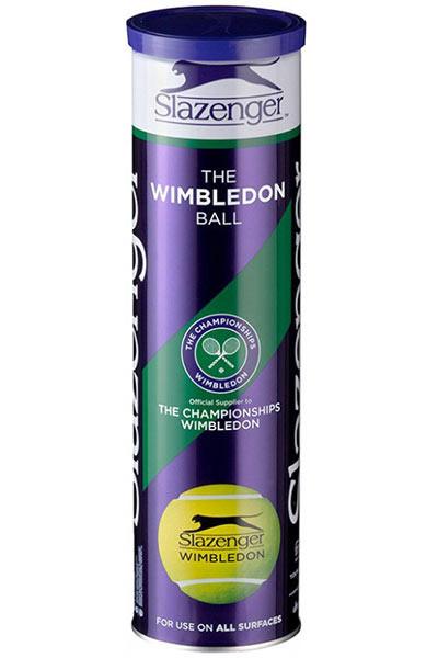 Slazenger Wimbledon 4-ball tin
