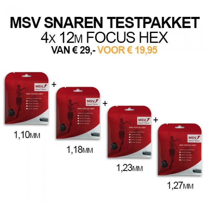 testpakket MSV focus Hex