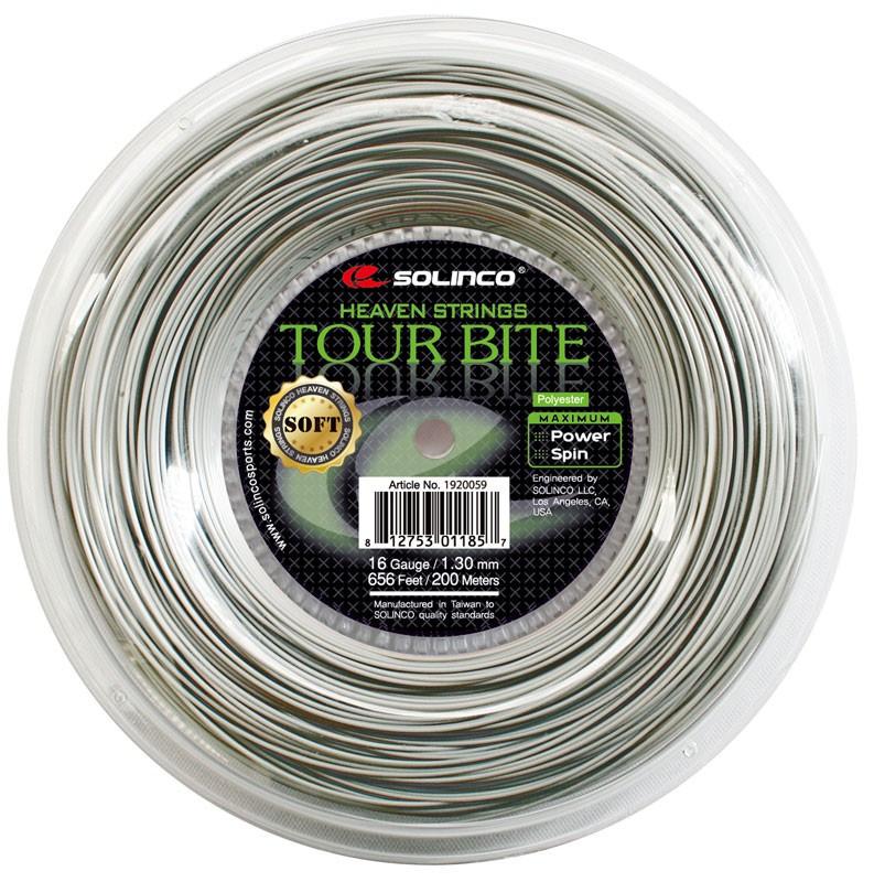 Solinco tennissnaar Tour Bite Soft 200m