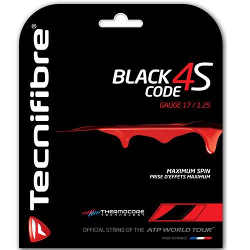 Tecnifibre Blackcode 4S 12m-1.25mm