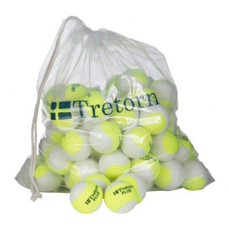 Tretorn Plus Trainingsballen 72 stuks/ polybag