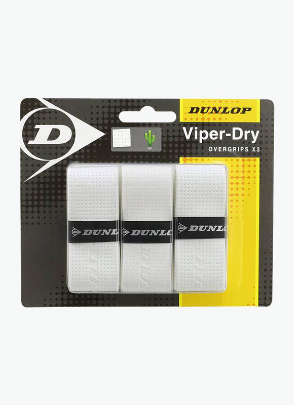 Dunlop Viperdry overgrip wit