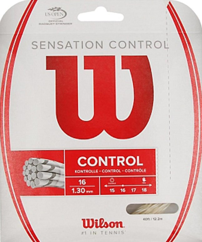 Wilson tennissnaar Sensation Control 12m