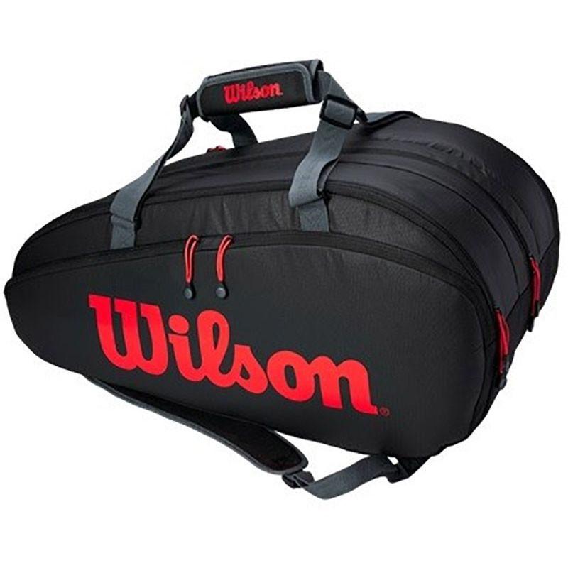 Wilson Tour 3 Comp Clash zwart/rood/grijs