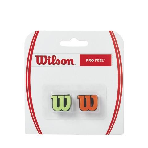 Wilson Pro Feel demper groen-oranje