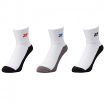 Yonex 3-Pack Basic MID Sock 19131