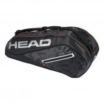 Head Tour Team 6R Combi zwart-zilver