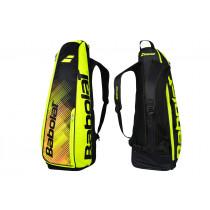 Babolat Backracq Badminton zwart-geel