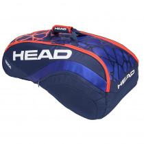 Head Radical 9R Supercombi blauw-oranje