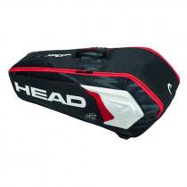 Head Djokovic 6R combi zwart/wit