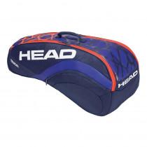 Head Radical 6R Combi blauw-oranje