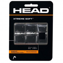 Head Xtreme Soft 3 pack zwart