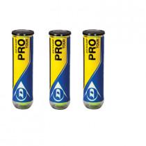 Dunlop Pro Tour 3 x 4 Pack