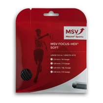 MSV Focus HEX Soft zwart
