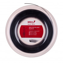 MSV Focus HEX PLUS 25 zwart 200m