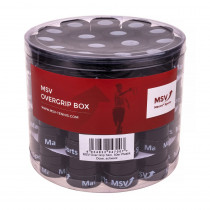 MSV overgrip Skin Perforated 60-pack zwart