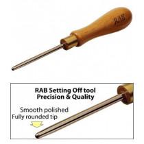 RAB setting off tool