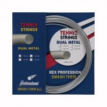 Rex Professional tennissnaar Dual Metal 12m