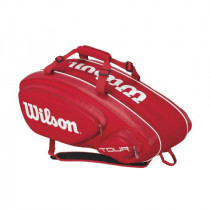 Wilson Tour V 9 pack rood