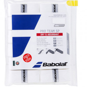 Babolat Pro Team SP overgrip wit 12stuks