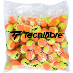 Tecnifibre XLD Bicolor geel-orange 72 stuks