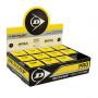 Dunlop Squashbal met dubbel gele stip (Pro's)