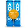 Dunlop Australian Open 2x4-pack
