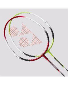 Yonex B-4000 set 2 rackets+ koker shuttles