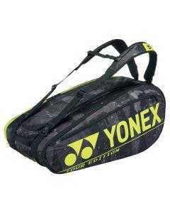 Yonex Pro Racketbag 92029- Black-Yellow