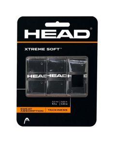 Head Xtreme Soft 3 pack zwart