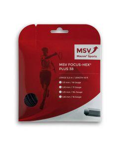 MSV Focus HEX PLUS 3812m zwart