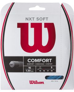 Wilson tennissnaar NXT Soft 1.30mm blauw 12m