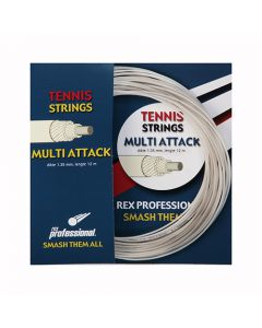 Rex Professional tennissnaar Multi Attack 12m