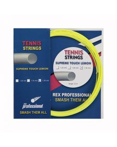 Rex Professional tennissnaar Supreme Touch Lemon 12m