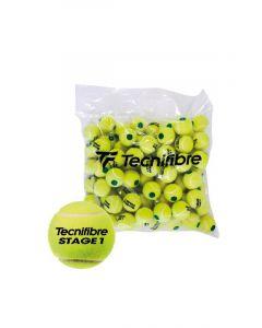 Tecnifibre Stage 1 polybag 72 stuks