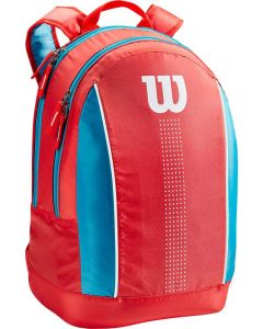 Wilson Junior Backpack coral-blue-white