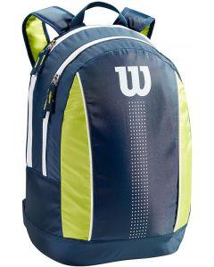 Wilson Junior Backpack navy-lime-green