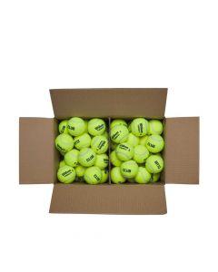 72 ballen per doos, geen plastic